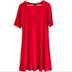 Red dress size L